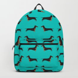 Black and Tan Dachshund Backpack