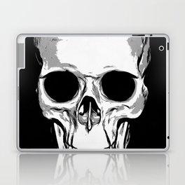 Monotone Skull Laptop & iPad Skin