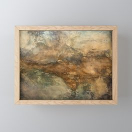 Throes Framed Mini Art Print