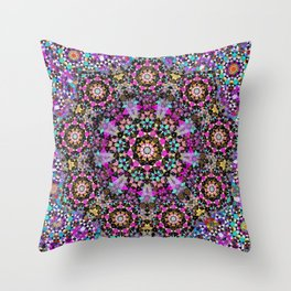 Emerging from the half light Throw Pillow
