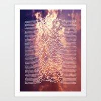joy division Art Prints featuring Joy Division by NoHo