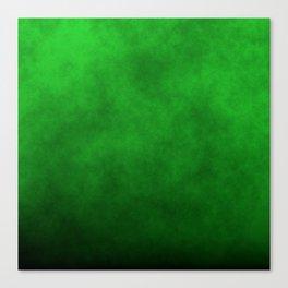 Monster Green Mad Scientist Laboratory Fog Canvas Print