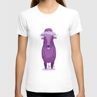 bison T-shirts featuring Bison by Margriet Kats