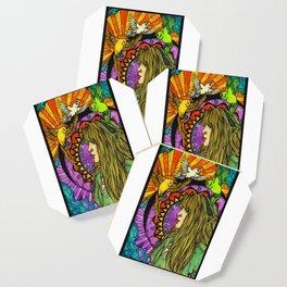 Three Birds of Rhiannon Coaster