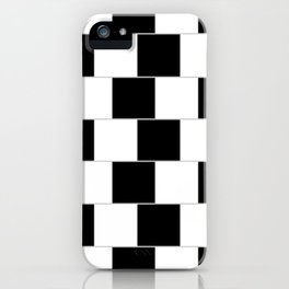 blackwhite iPhone Case