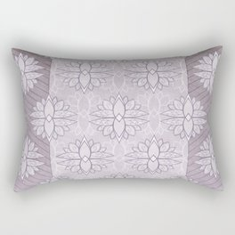 In Love with Mauve Rectangular Pillow