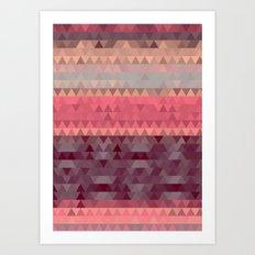 A Cute Angle Art Print