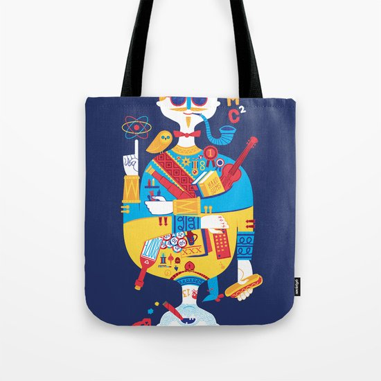 Jack of Smarts (Knave of Slobs) Tote Bag
