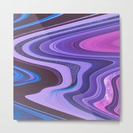 Candy Swirl Metal Print
