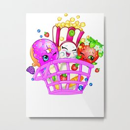 Shopkins 1 Metal Print