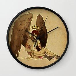 bird prince Wall Clock