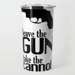 The Godfather cannoli Travel Mug