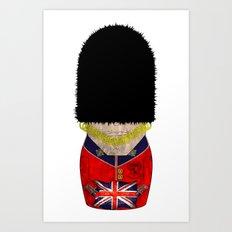 Royal Guard Matryoshka/Nesting Doll Art Print