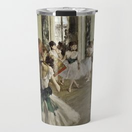 Edgar Degas - The Ballet Class Travel Mug