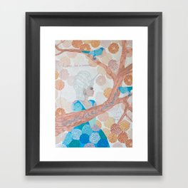I Was Born A Unicorn Framed Art Print