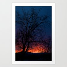 Sunset 3 Art Print