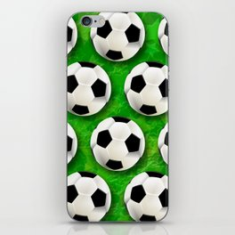 Soccer Ball Football Pattern iPhone Skin