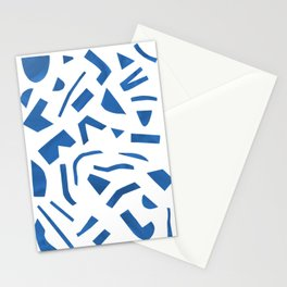 Cut Out - Blue Stationery Cards
