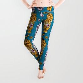 Tigers pattern 2 Leggings