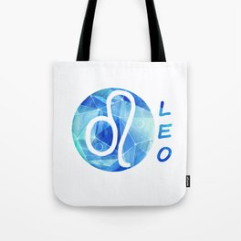 Leo. lion. Sign of the zodiac. Tote Bag