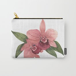 Watercolor Orchid 2 Carry-All Pouch