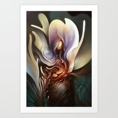 Wildflower Nephilim Art Print