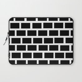 Black and white wall Laptop Sleeve