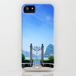 Lugano, Switzerland iPhone Case
