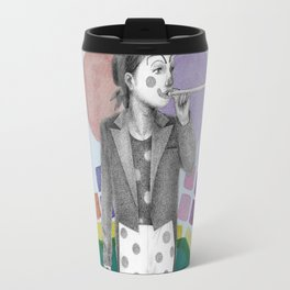 clown and lots of dots Travel Mug