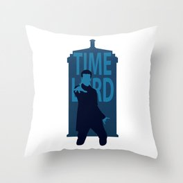 Twelfth Time Lord Throw Pillow