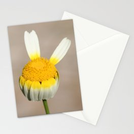 Hippie flower making peace sign Stationery Cards