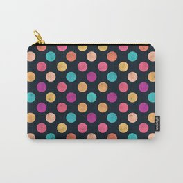 Watercolor Dots Pattern VI Carry-All Pouch