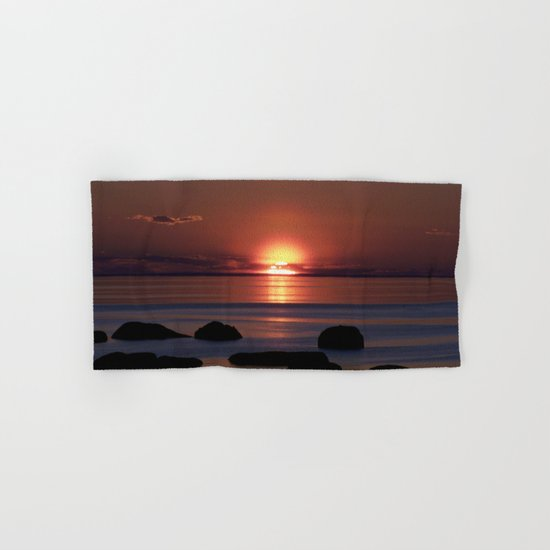 Shock-wave Sunset Hand & Bath Towel