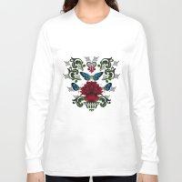 butterflies Long Sleeve T-shirts featuring Butterflies by Lorelei Douglas