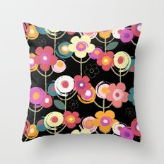 Welcome to my garden Throw Pillow