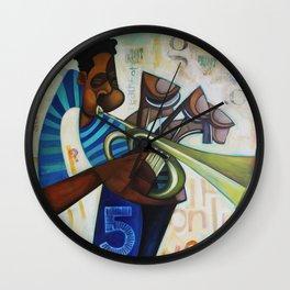 Sauce Wall Clock