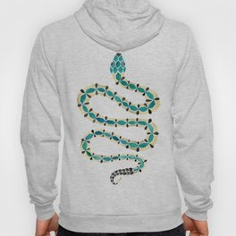 Emerald & Gold Serpent Hoody