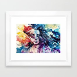 like wildfire Framed Art Print
