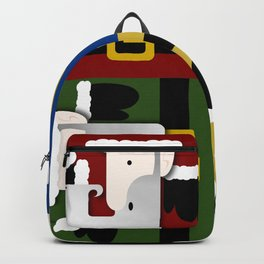 All Color Santa Backpack