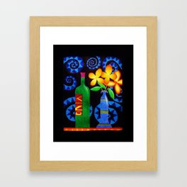 Vino by Anthony Davais Framed Art Print