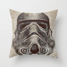 Vincent Stormtrooper Throw Pillow