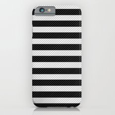 Sleepy Black and White Stripes Slim Case iPhone 6s