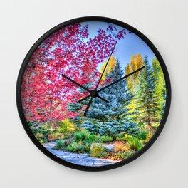 Colofull Garden Wall Clock