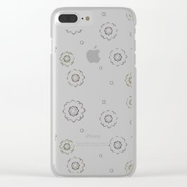 Floral summerprint Clear iPhone Case
