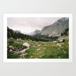 Lizard Head Meadows -- The Cirque of the Towers Art Print