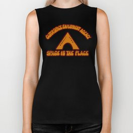 Space Is The Place Biker Tank
