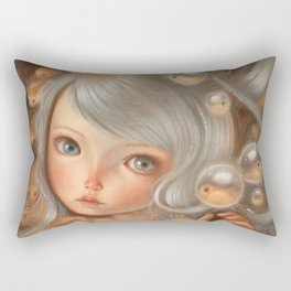 Deep Breath Rectangular Pillow