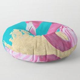 Flora the Flamingo Floor Pillow