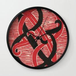Infinite Ampersand Wall Clock