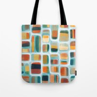 kandinsky Tote Bags featuring Color apothecary by Efi Tolia